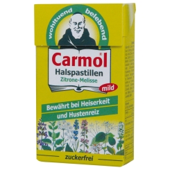 B. Carmol Halspastillen mild Zitrone Melisse