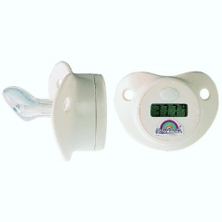 Baby-Frank® Thermometer-Sauger Silikon Gr. 1/2 0-18 Monate