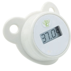 Baby-Frank® Thermometer-Sauger Silikon Gr. 1/2 0-18 Monate