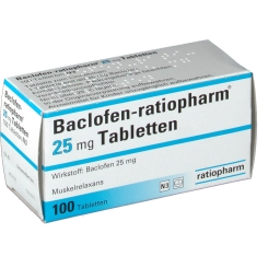 Baclofen ratiopharm 25 Tabletten