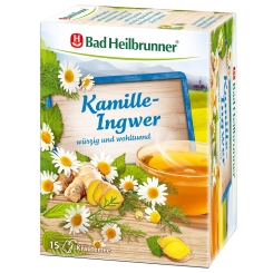 Bad Heilbrunner® Kamille-Ingwer Tee