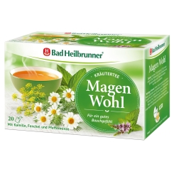 Bad Heilbrunner® Magen Wohl Kräutertee