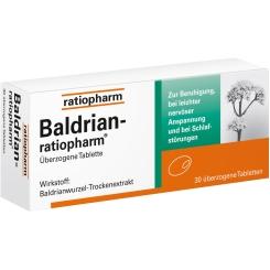 Baldrian-ratiopharm® überzogene Tablette