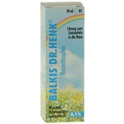 BALKIS DR. HENK® Nasentropfen 0,1%