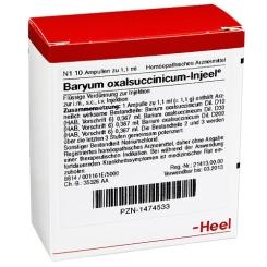 Baryum oxalsuccinicum-Injeel® Ampullen