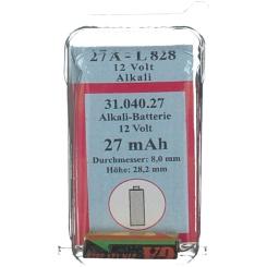 Batterie Alkali 12V 27A