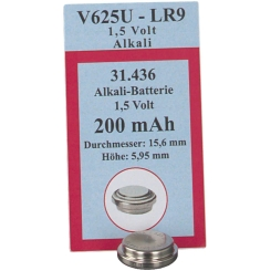 Batterien Knopfzelle Lr 9 Px 625 U