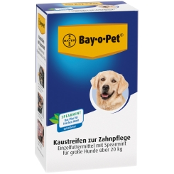 Bay-o-Pet® Kaustreifen für große Hunde mit Spearmint