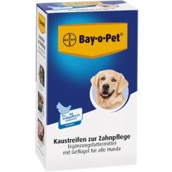 Bay-o-Pet® Zahnpflege Kaustreifen mit Geflügel für Hunde