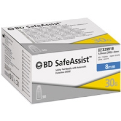BD SafeAssist™ Sicherheits-Pen-Nadel 30 G 8 mm