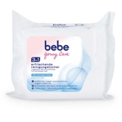 bebe Young Care® Erfrischende Reinigungstücher