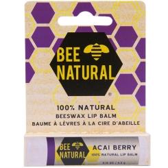 BEE NATURAL Lippenpflegestift Acai Beere