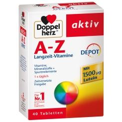 Beigabe Doppelherz® aktiv A-Z Depot Tabletten