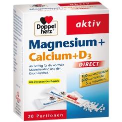 Beigabe Doppelherz® aktiv Magnesium + Calcium + D3 DIRECT Micro-Pellets