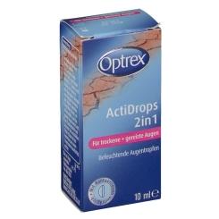 Beigabe Optrex ActiDrops 2in1 für müde und überanstrengte Augen
