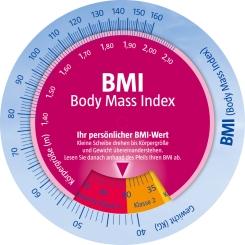 Beigabe Orlistat BMI-Drehscheibe