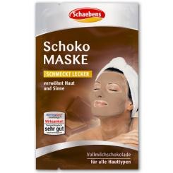 Beigabe Schaebens Schoko Maske