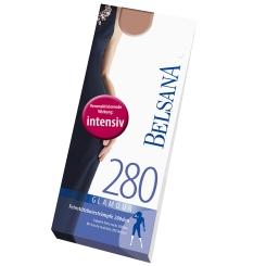 BELSANA 280den glamour lang Größe L Nachtblau