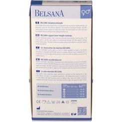 BELSANA Cotton Stützkniestrumpf Gr. 39-41 Farbe schwarz