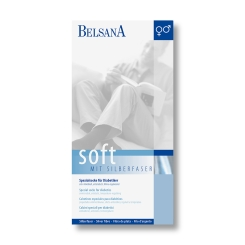 BELSANA soft Spezialsocke Gr. 36-38 Farbe schwarz