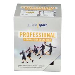 Belsana sport performance compression socks high Schwarz Größe 3 (42-44)