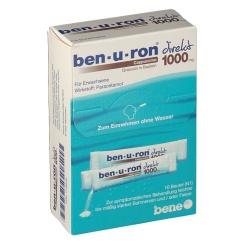 ben-u-ron® direkt - Cappuccino 1000 mg