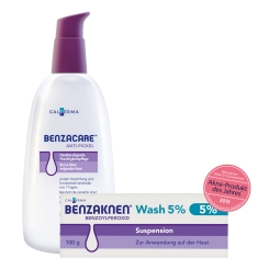 BENZAKNEN® Wash & Care