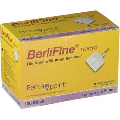 BerliFine® micro Kanuelen 0,25x5 mm