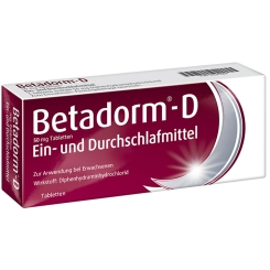 Betadorm®-D 50 mg Tabletten