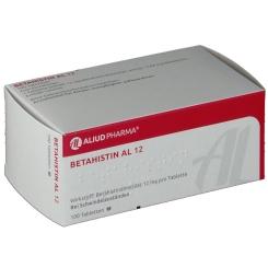 Betahistin Al 12 Tabletten