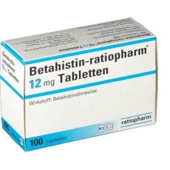 Betahistin ratiopharm 12 mg Tabletten