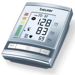 beurer Oberarm-Blutdruckmessgerät BM60