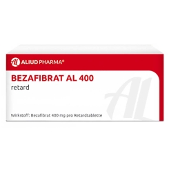 Bezafibrat AL 400 Retardtabletten