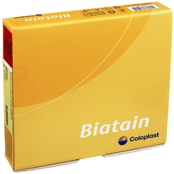 Biatain® Schaumverband 10x10cm sanft haftend (steril)