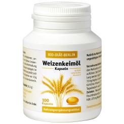 BIO-DIÄT-BERLIN Weizenkeimöl Kapseln