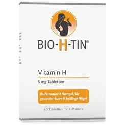 BIO-H-TIN® Vitamin H 5 mg für 4 Monate