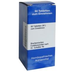 Biochemie 10 Natrium sulfuricum D 12