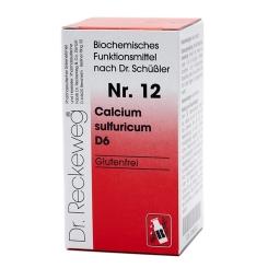 Biochemie 12 Calcium sulfuricum D6 Tabletten