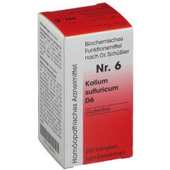 Biochemie 6 Kalium sulfuricum D6 Tabletten