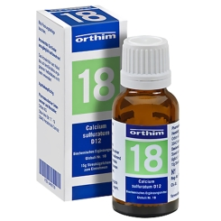 Biochemie Nr. 18 Calcium sulfuratum D 12