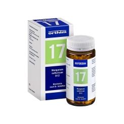 Biochemie Orthim Nr. 17 Manganum sulfuricum D12