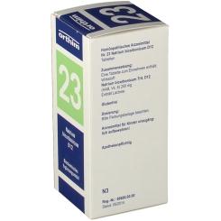 Biochemie Orthim Nr. 23 Natrium bicarbonicum D12