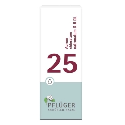 Biochemie Pflüger® 25 Aurum chlorum natronatum D 6