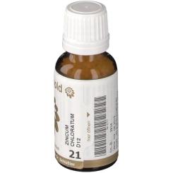 BIOCHEMIE Senagold 21 Zincum chloratum D12