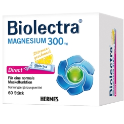 Biolectra® Magnesium 300 mg Direct Zitrone