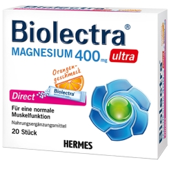 Biolectra® Magnesium ultra Direct 400 mg Orange