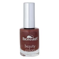 BIOMARIS® beauty colors Nagellack dunkelrot metalllic