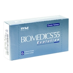 Biomedics 55 EvolutionBC:8,80 DIA:14,20 SPH:+0,50