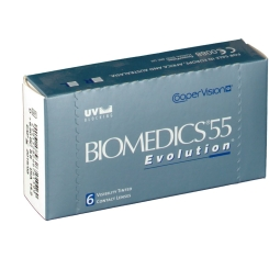 Biomedics 55 EvolutionBC:8,80 DIA:14,20 SPH:+6,50