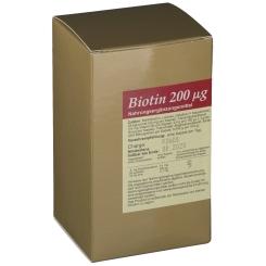 Biotin 200 µg + Zink